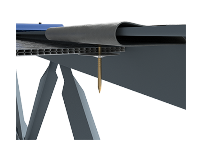 Mechanical Fastener Assembled View